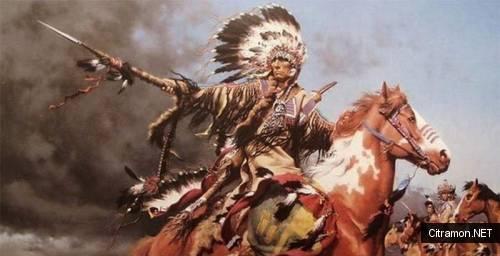 Сидящий Бык, Ситл, Белое Облако и другие индейские вожди XIX века.