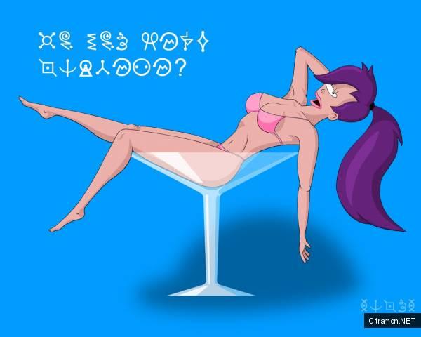 Футурама - изучаем инопланетный язык!!!