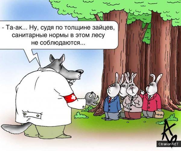 Андрей Бузов - Санитарные нормы в лесу