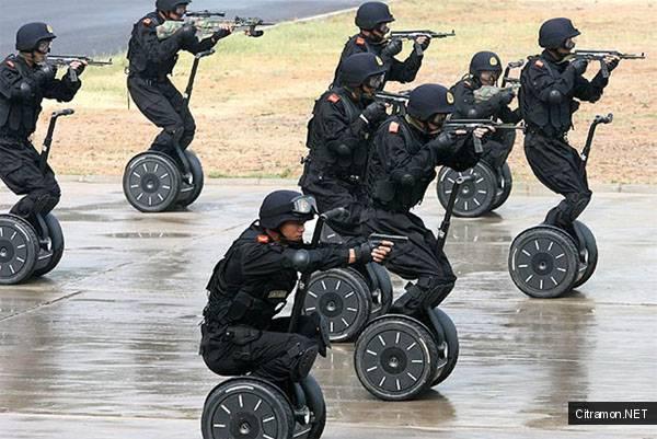 Спецназ Delfa Force на колесиках