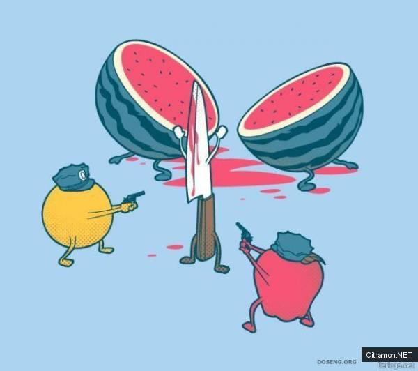 Расчленение арбуза