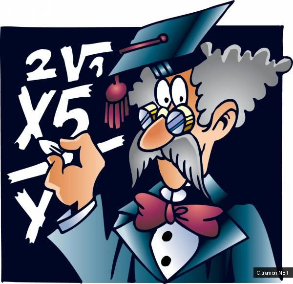 Математик у доски