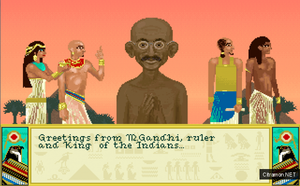 Кровожадный Махатма Ганди