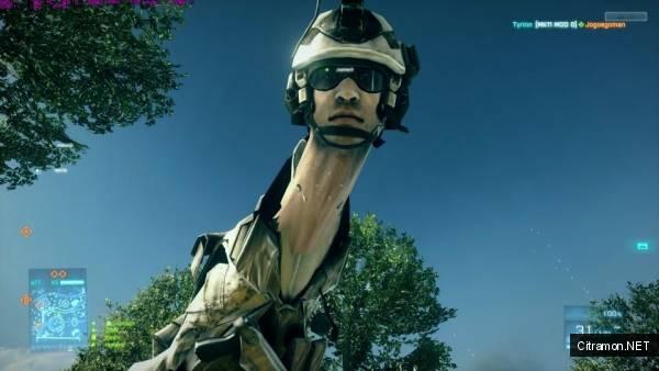 Солдат-жираф