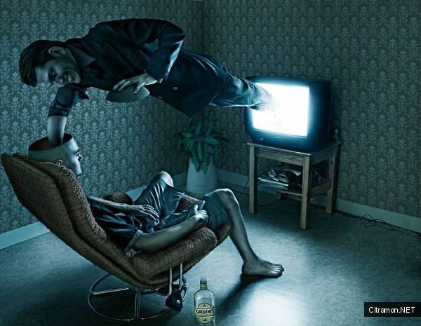 Телевизор промывает мозги