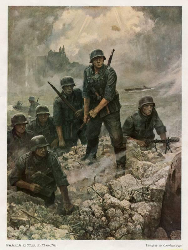 Веселые немецкие солдаты