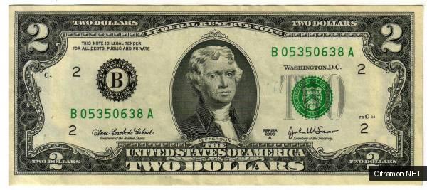 Два доллара
