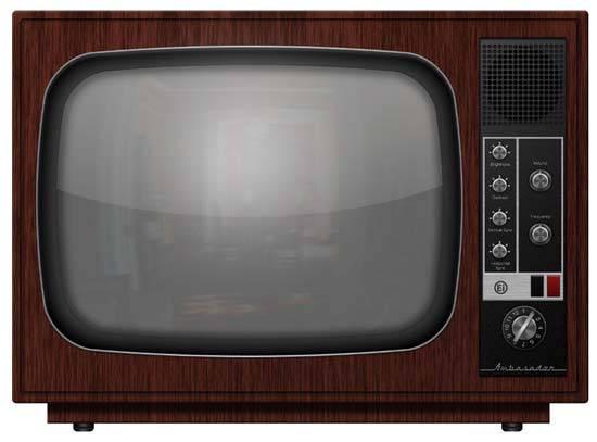 Советский телевизор без рекламы